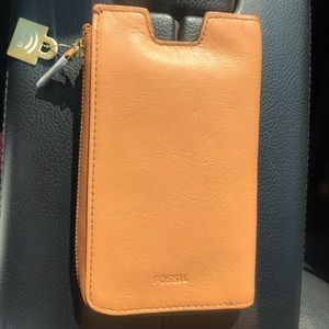 Fossil Phone holder and wallet